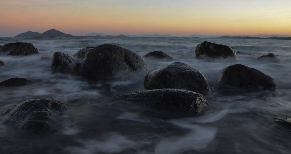 Mission beach rocks2 by kirstenfairfax