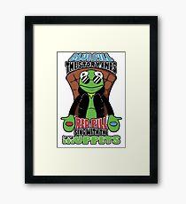 Frog Pills Framed Print