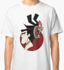 Samurai Jack and Aku - Red Classic T-Shirt