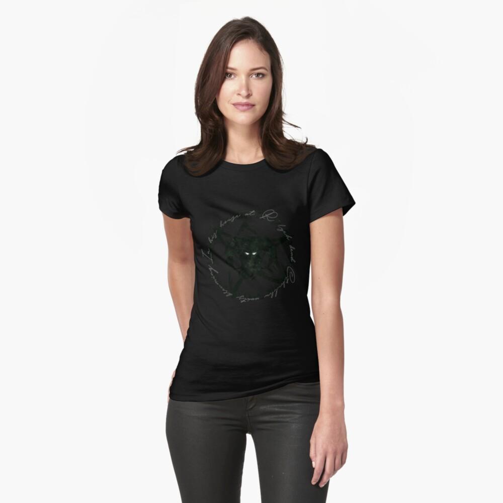 Elder Sign Cthulhu Womens T-Shirt Front