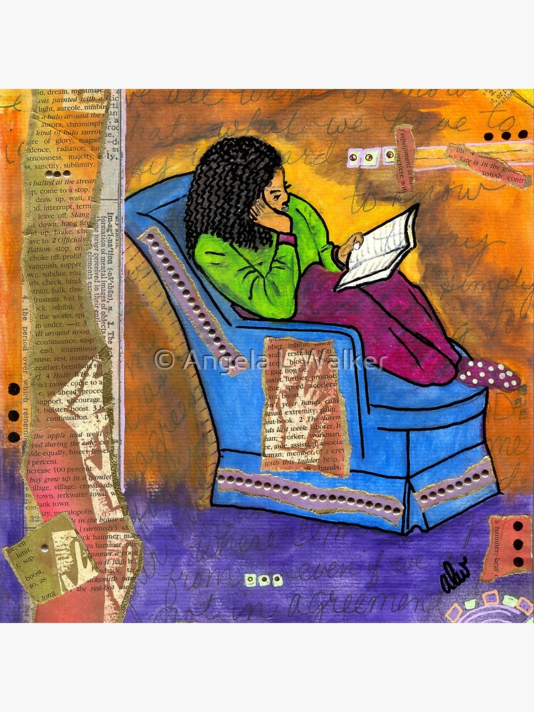 The Reader by alwfineart