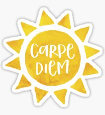 Carpe Diem - Sun Sticker