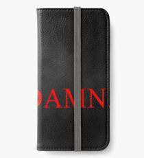 Kendrick Lamar Damn Wallpaper IPhone Wallet Case Skin