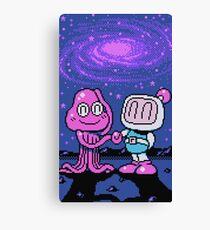 Panic Bomber W - Space 2 ☆ Canvas Print