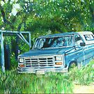 Texas truck.....Dads old F150 by Anartist