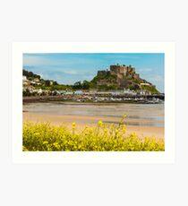 Mont Orgueil Castle Gorey Art Print