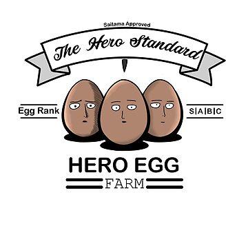 Hero Egg by Kitsuneace