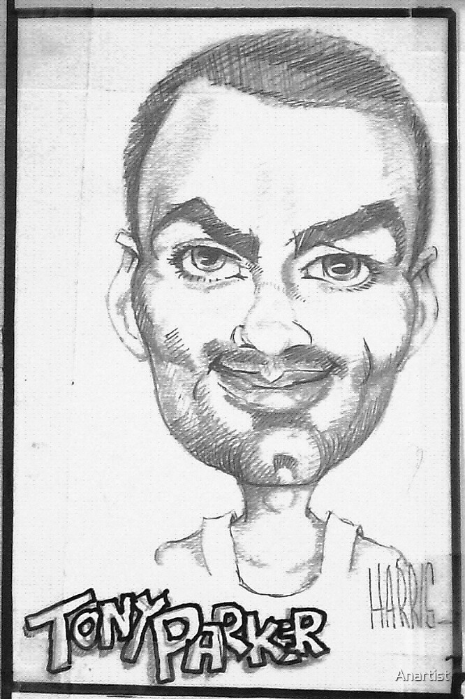 Tony Parker by Anartist