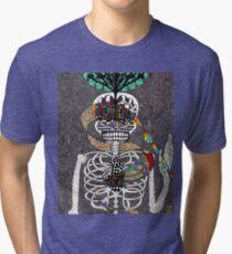 Bones of an Artist Tri-blend T-Shirt