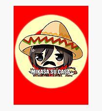 Mikasa Su Casa  Photographic Print