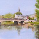 Morpeth - where I was dragged up. by Brian Towers