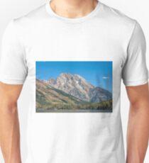 Mt Moran at the Grand Tetons Unisex T-Shirt