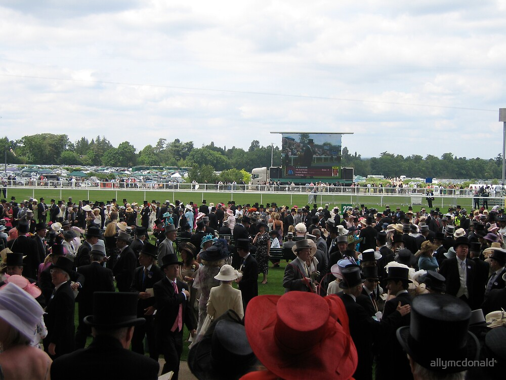 Racing at Royal Ascot by allymcdonald