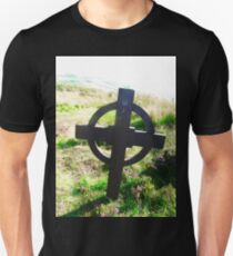 Celtic Cross at Grianan of Aileach, Donegal, Ireland T-Shirt