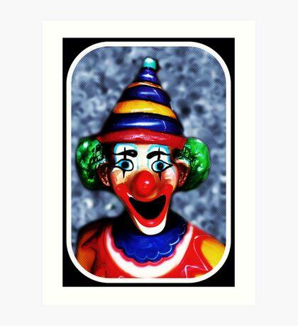 Nicht nur ein anderer Clown Kunstdruck