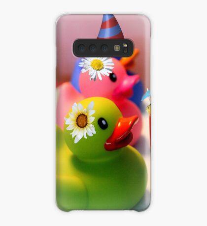 Party Zeit Hülle & Klebefolie für Samsung Galaxy