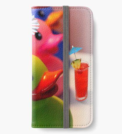 Party Zeit iPhone Flip-Case