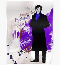 Sherlock BBC (Phenomena) Poster