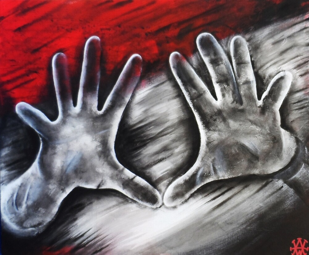 My cold dead hands by AdrianWilsonArt