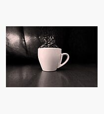 Cup-Full Of Beans Photographic Print
