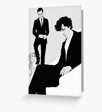 Sherlock BBC (I am you) Greeting Card