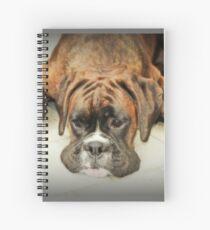 So ist das Leben - Boxer Dogs Series - Boxerin Spiralblock