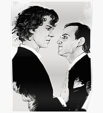 Sherlock BBC (Stop) Poster