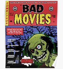 Zombie Movie Marathon Announcement  Poster