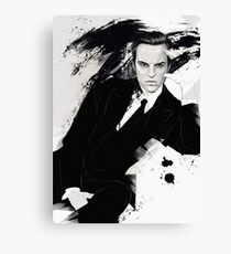 Sherlock BBC (Jim Moriarty) Canvas Print