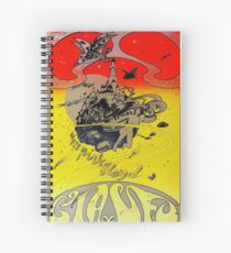 Retro 60's Psychedelic Spiral Notebook