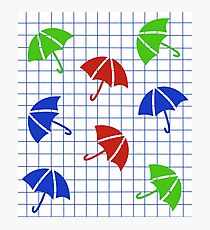 umbrella grid Photographic Print