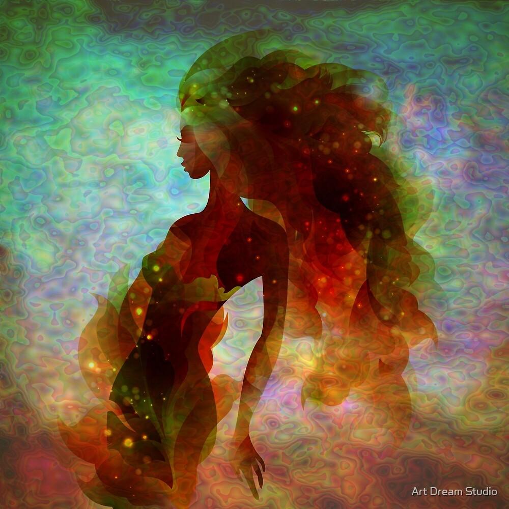 Mermaid girl by Art Dream Studio
