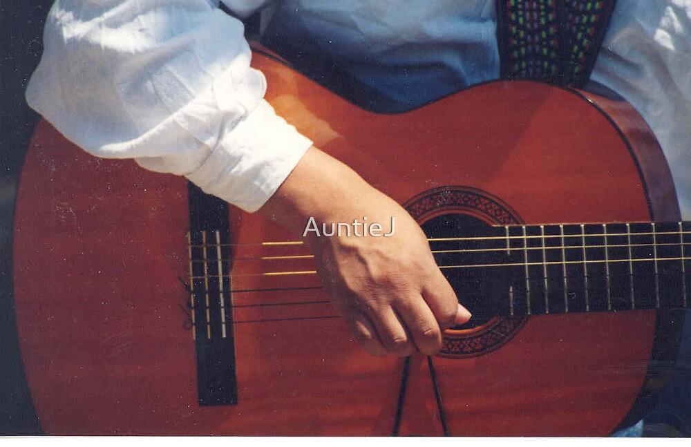 Hand Study - Guitarist by AuntieJ