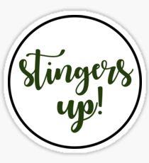 Stingers Up - Sacramento State  Sticker