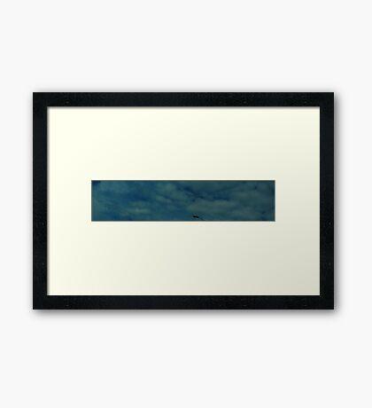 0341 - HDR Panorama - Sky Framed Print