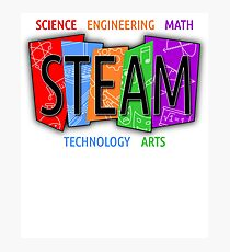 STEAM Shirt for Teachers and Students Photographic Print