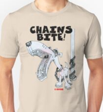 Chains Bite - Dogs Deserve Better Unisex T-Shirt
