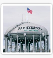 Sacramento, California - City of Trees Sticker