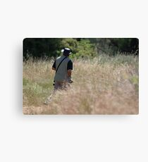 The Birder Canvas Print