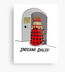 Indiana Dalek Metal Print