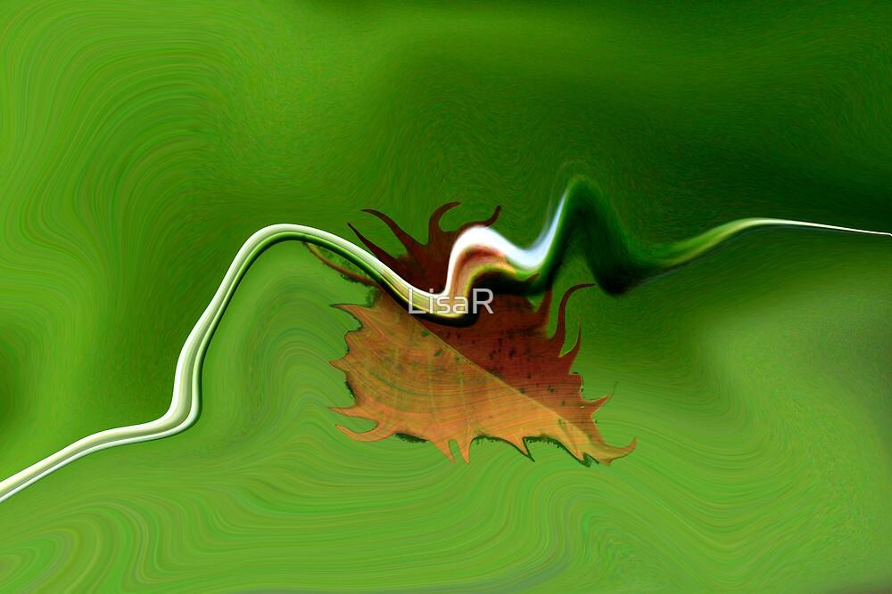 Autumn Leaf by LisaR