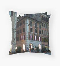 Piazza di Spagna, Rome Throw Pillow