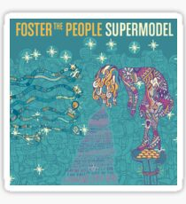 Foster the People Band Album Cover Sticker