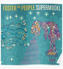 Foster the People Band Album Cover Poster