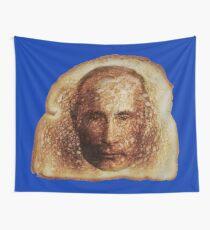 Toast Wunder mit Vladimir Putin -on blue- Wandbehang