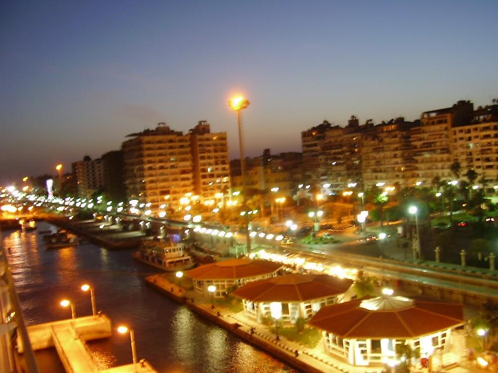 Port Said, Egypt by Ann Palmieri