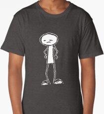 Stick Figure Long T-Shirt