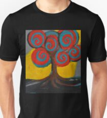 Recovery Tree ~ print of oil pastel portrait Unisex T-Shirt