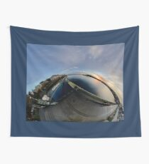 Dawn Calm at Foyle Marina, Derry, N.Ireland Wall Tapestry