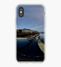 Dawn Calm at Foyle Marina, Derry, N.Ireland iPhone Case